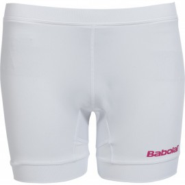 Shorty Babolat match perf - Blanc