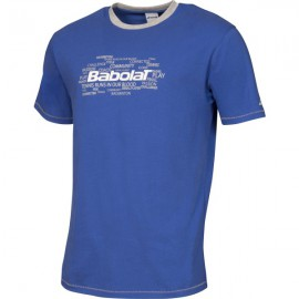 T-shirt Babolat Training bleu Junior 2016