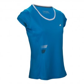 Babolat T-shirt Flag Core Girl Drive Blue