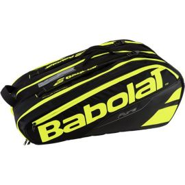 Sac de tennis Babolat Pure Line - Racket Holder x 12 Jaune / Noir