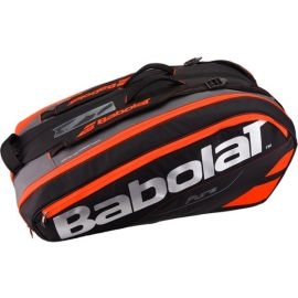 Sac de tennis Babolat Pure Line - Racket Holder x 12 Rouge Fluo / Noir
