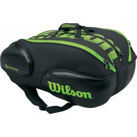 Sac de tennis Wilson Blade 15 Pack Black / Green