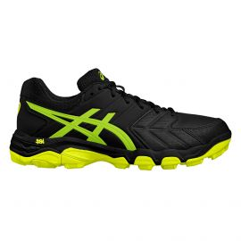Asics Gel BlackHeath 6 - Black /Green Gecko / Safety Yellow