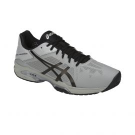 chaussure de tennis Asics Men Gel Solution Speed 3 Omni Mid Grey / Black