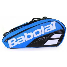 Sac de tennis Babolat Pure Line - Racket Holder x 12 Bleu / Blanc
