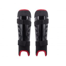 TK ASX 2.1 Shin guard - White / Black / Red - KIDS