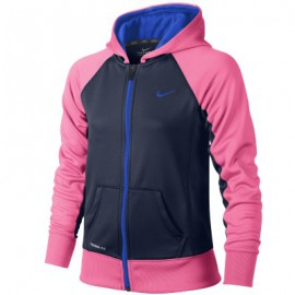 Sweat Nike à capuche zippé rose K.O 2.0
