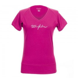 Cotton tee pink Lady Tecnifibre