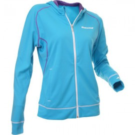 Sweat Babolat capuche Match performance - Turquoise