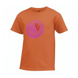 T-shirt Wilson Heart Tennis Ball - Corail