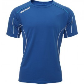 T-shirt Babolat Match Core - Bleu